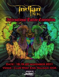 Indian Ink International tattoo Convention, November 2011